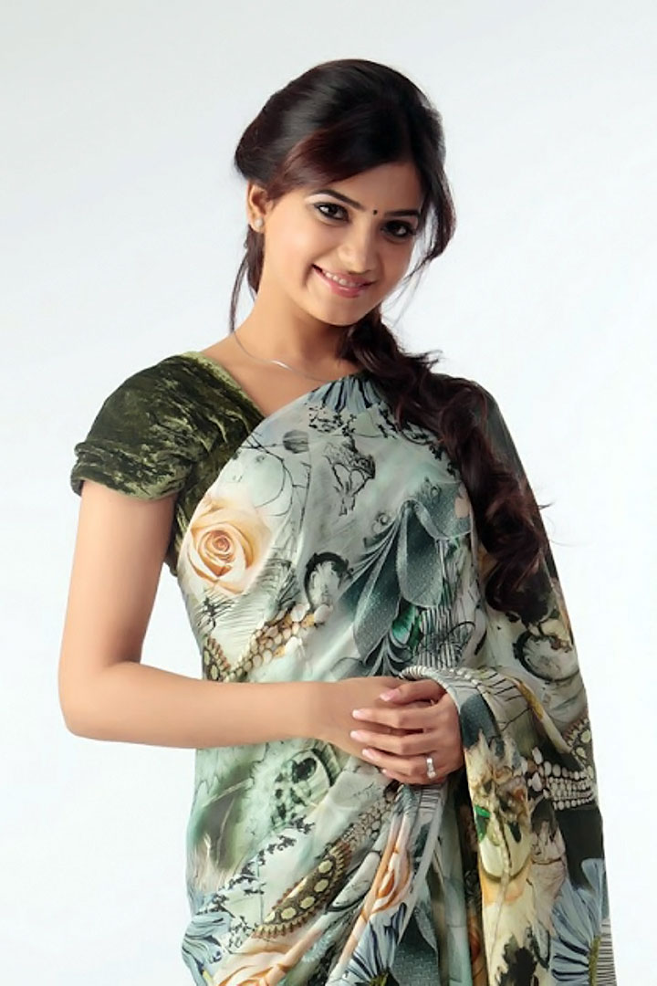Samanta Saree PhotoShoot Photos