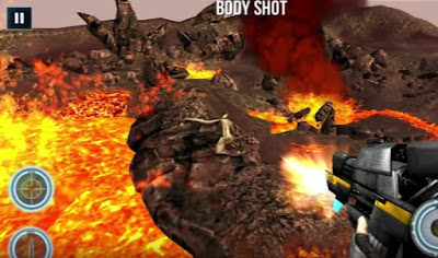 Game DINO GUNSHIP Hunter Pro 1.1 Apk Full Gratis