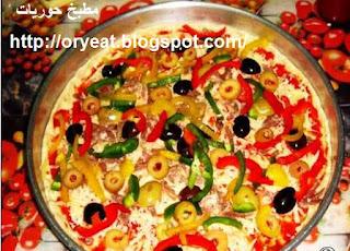 طريقة عمل البيتزا الايطالية بالصور   • • •  Italian cooking pizza pictures 129948184618%5B1%5D.