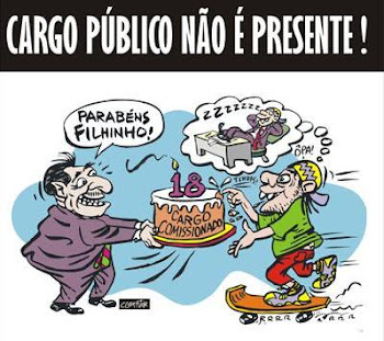 Estamos de olho na política local !!!