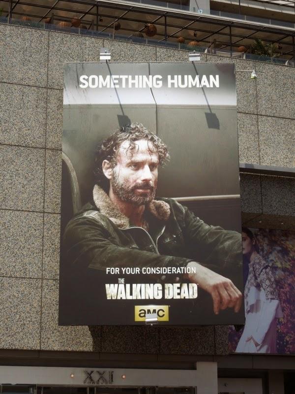 Walking Dead Something Human Rick Grimes Emmy 2014 billboard