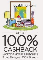 Home & Kitchen 100% Cashback