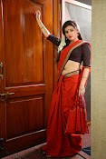 Archana veda in red saree photos-thumbnail-2