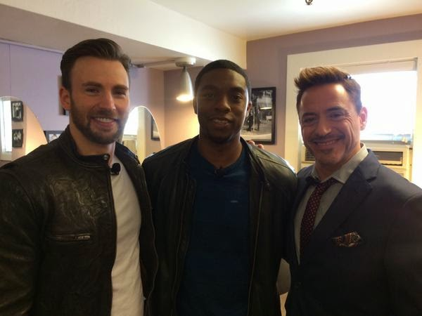Black Panther Chadwick Boseman T'Challa in Marvel Cinematic Universe