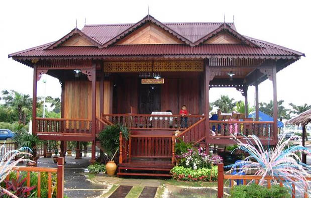 Rumah Adat di Indonesia limas