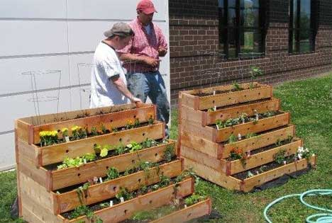 Style and Design : Ideas for a community garden