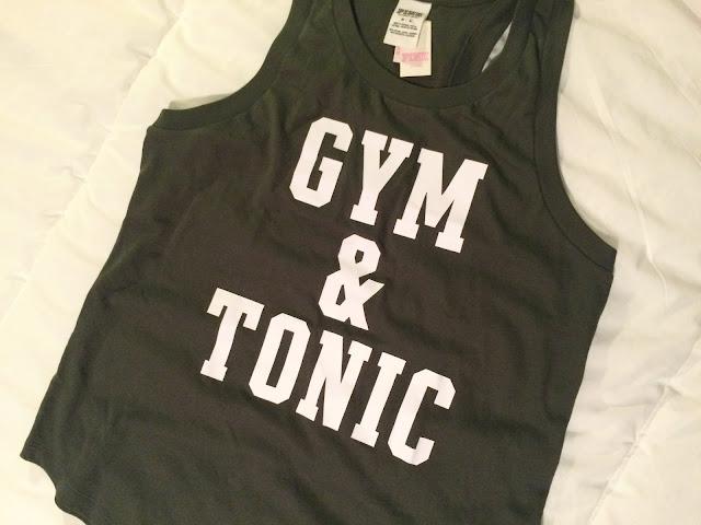 Victoria's Secret Gym & Tonic tank