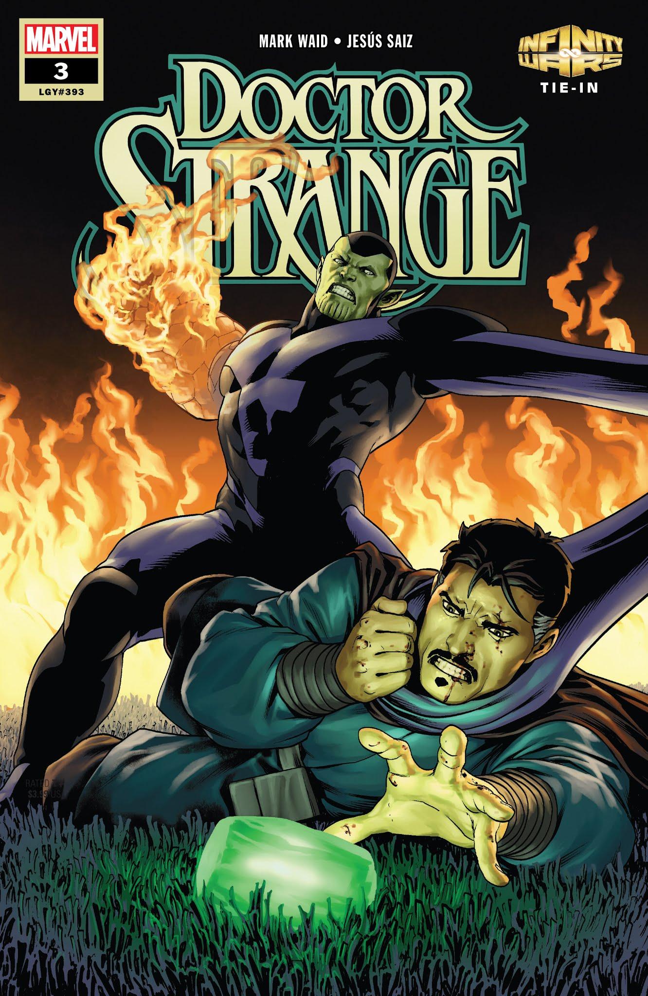 Doctor Strange (2018) 3 Page 1