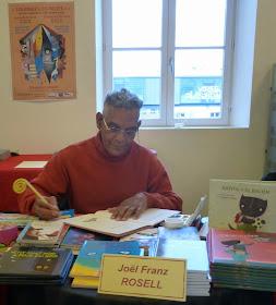 En el Festival del libro infantil y juvenil de Gien (Francia)