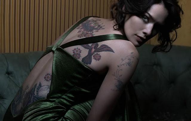 Tatuajes de Lena Heady, http://distopiamod.blogspot.com.es