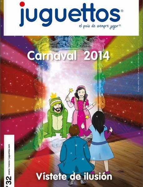 catalogo juguettos disfraces carnaval 2014