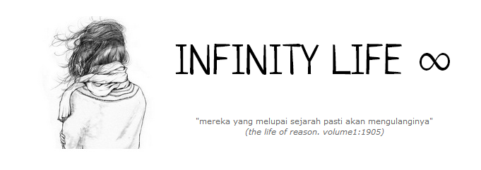<center>INFINITY LIFE ∞</center>