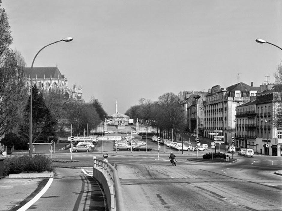 Loire-Atlantique (44) Le-pont-de-la-rotonde-en-1979