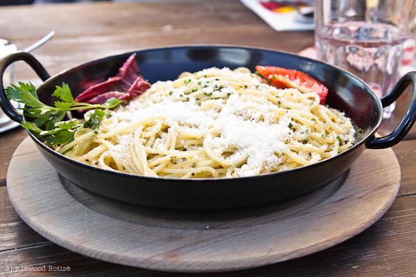 Spaghetti Aglio Olio Sternhütte Rosskopf Südtirol