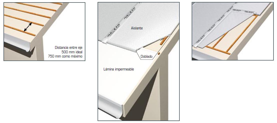 Vg at aislante ultra fino multi reflector actis - Colocar friso en pared sin rastreles ...