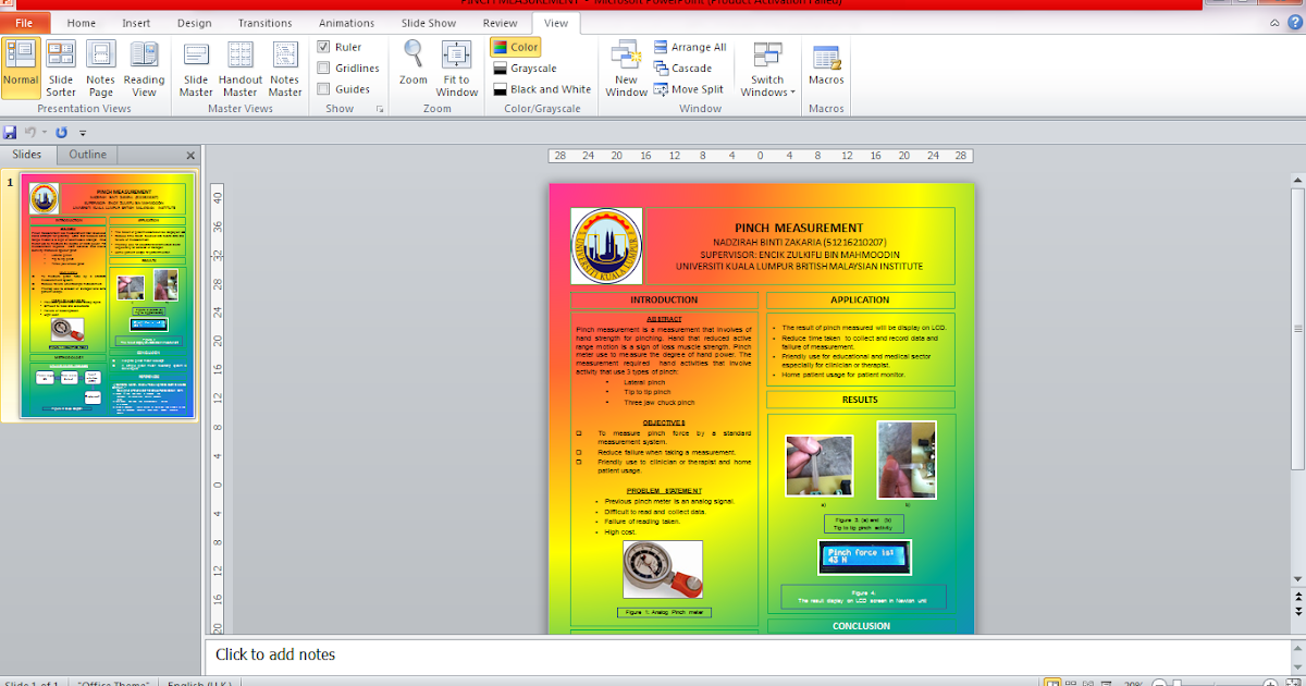 printable design » a1 size powerpoint template poster presentation, Powerpoint templates