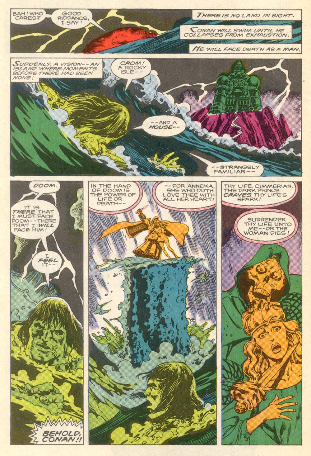 Conan the Barbarian (1970) Issue #203 #215 - English 8