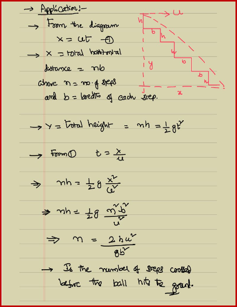 application of projectile motion Integration and projectile motion (sect 132) i integration of vector functions i application: projectile motion i equations of a projectile motion i range, height, flight time.