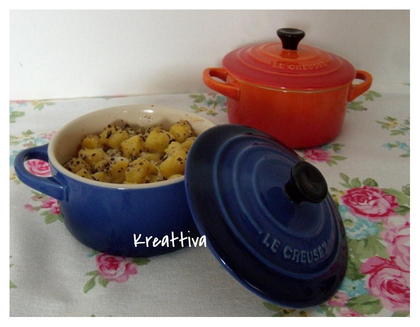 Gnocchetti con salsa tartufata