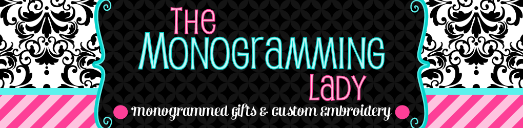 The Monogramming Lady