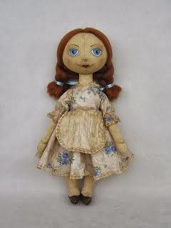 Как создается чердачная кукла