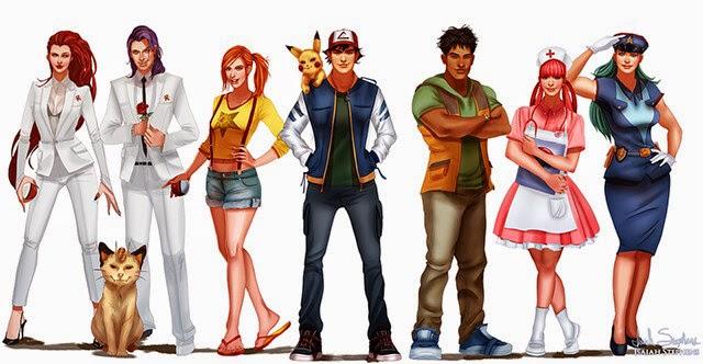 Frikigeekus: Artista ilustra personajes de dibujos animados ...