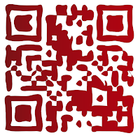 QR-Code Red (post-processed)