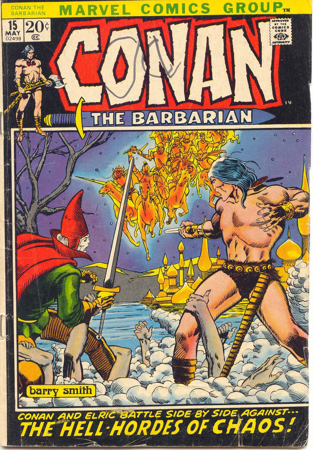 Conan the Barbarian (1970) 15 Page 1