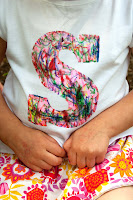 Tutorial: Scribble Initial T-Shirt