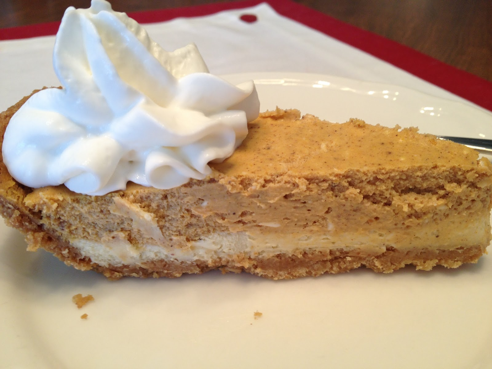 Domesticated Duchess: Pumpkin Cheesecake!