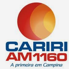 ouvir a Rádio Cariri AM 1160,0 Campina Grande PB