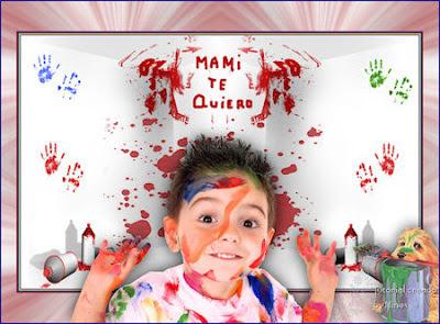 Enfant paint by Nines