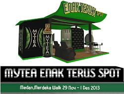 #EnakTerus Bareng MYTEA di Merdeka Walk Medan