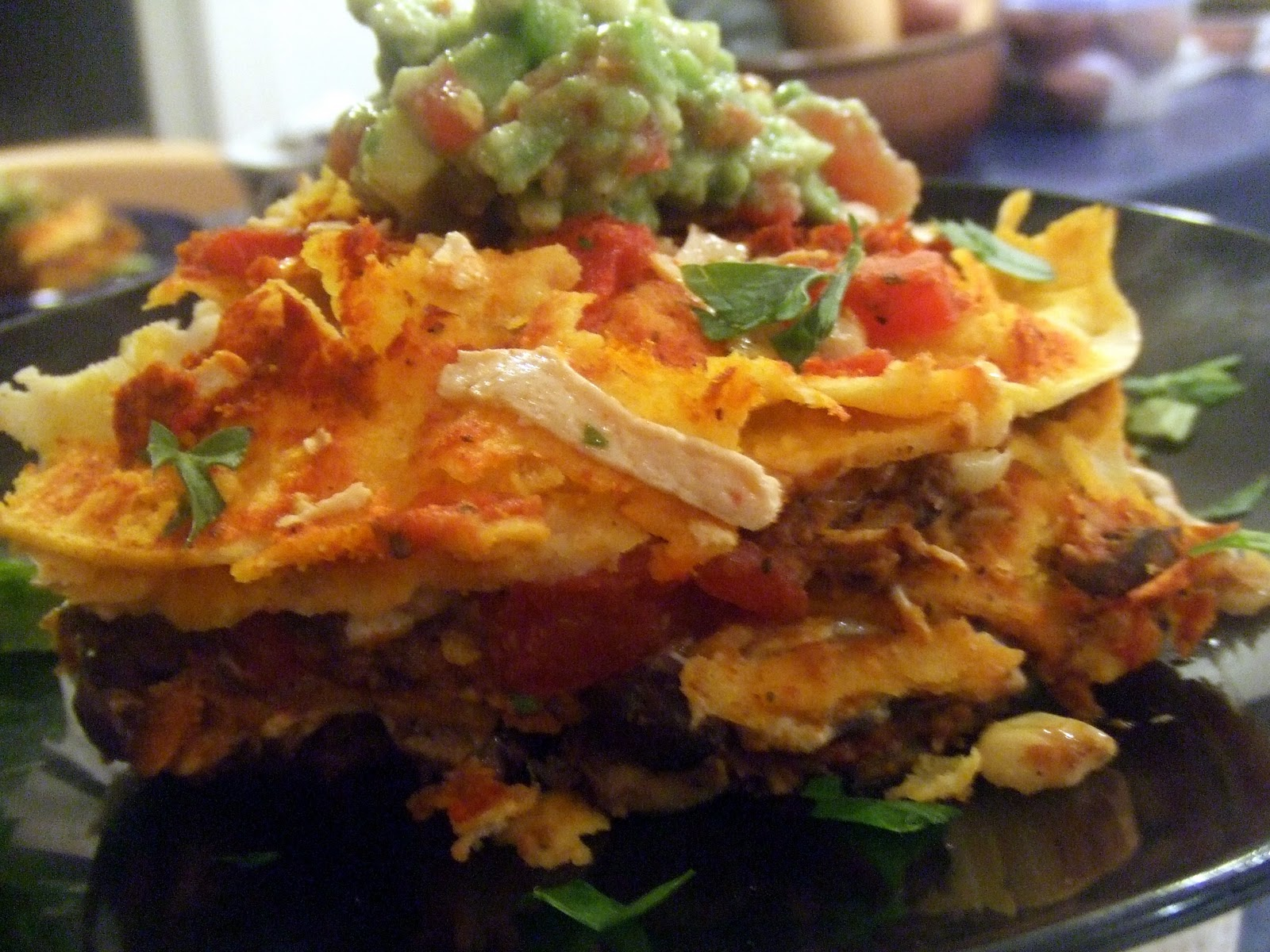Mexican Lasagna for Cinco De Mayo :) | Food & Drinks | Pinterest