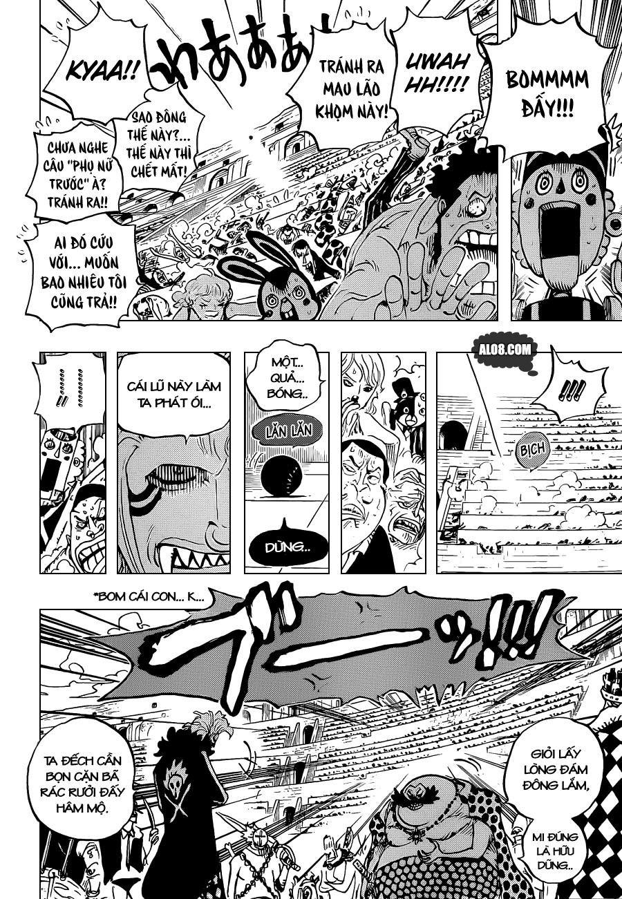 One Piece Chapter 706: Ta sẽ không cười ngươi nữa đâu 004