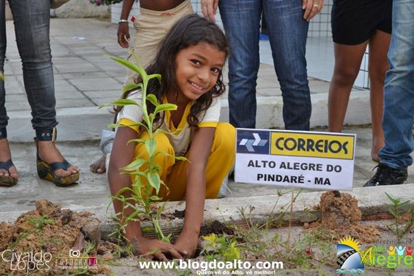 Aluna da Escola Monteiro Lobato