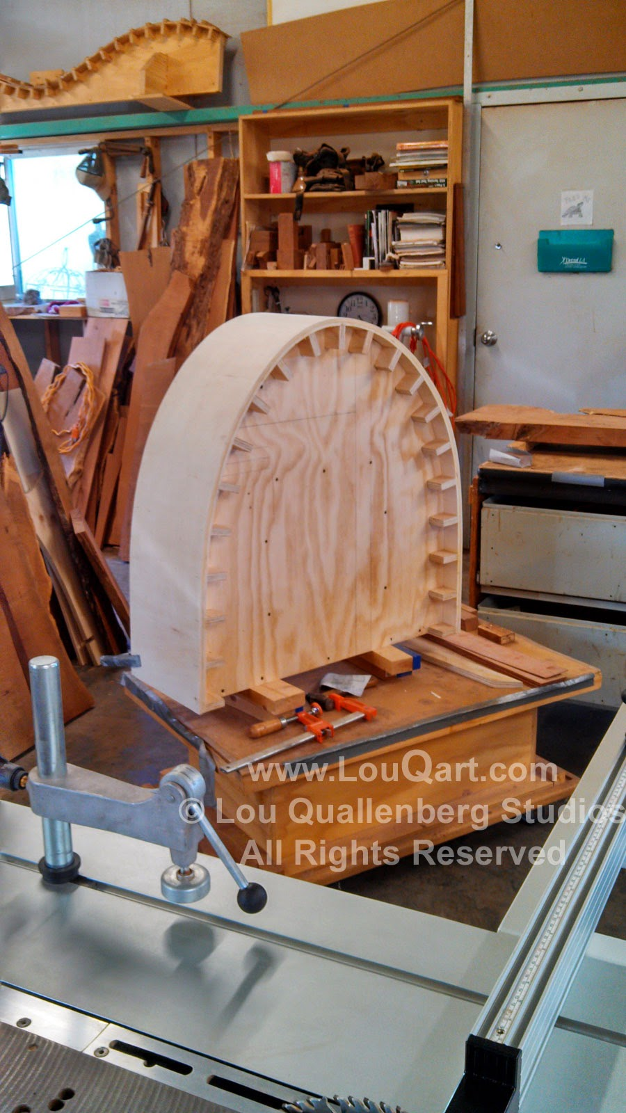 Lou Quallenberg Studios Jig for large curves