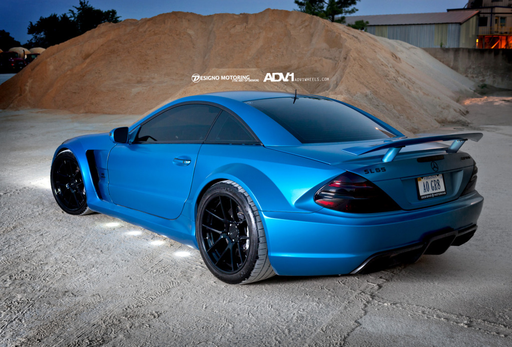 Mercedes Benz Black Matte Custom Paint Job