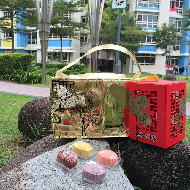 Swensen's SG50 Moon Gems - Ice-cream Mooncakes