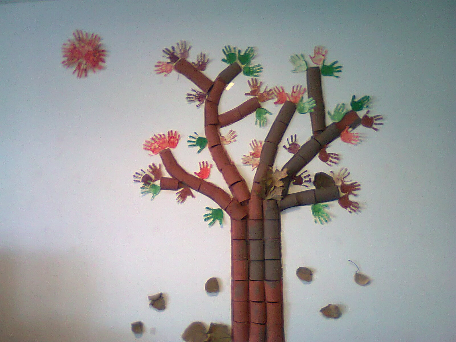 Fabuloso Duendes Mágicos Artes @: Ideia para Árvore de Outono : com rolos  TU11
