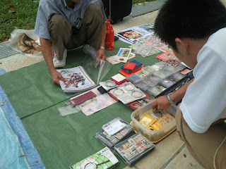 Flea Market selling Stamps, Coins, Currency Notes