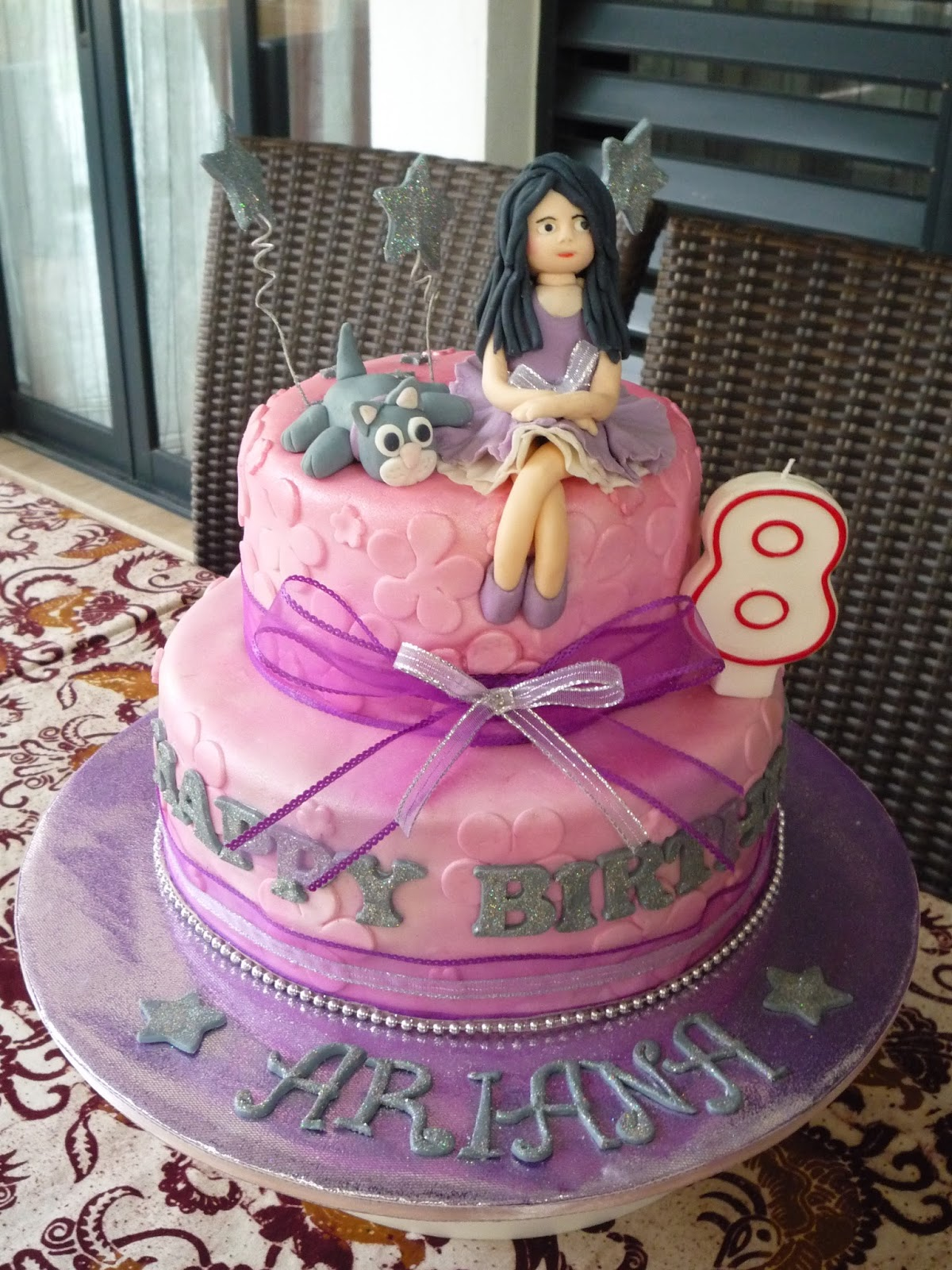 Pink Ellies Novelty Cakes Arianas 8th