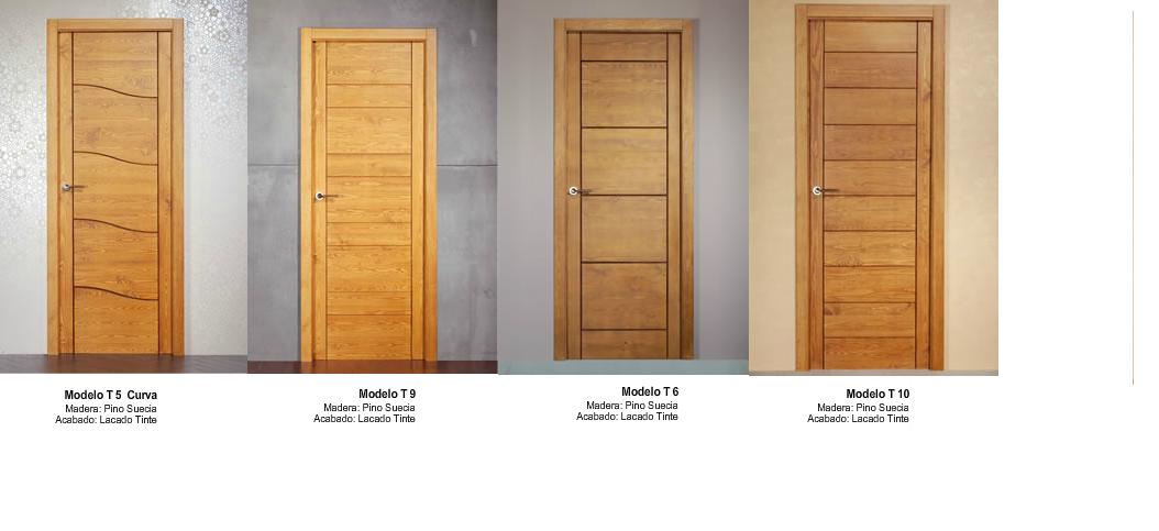 Made of wood puertas modernas en madera maciza s las for Puertas de madera interiores minimalistas