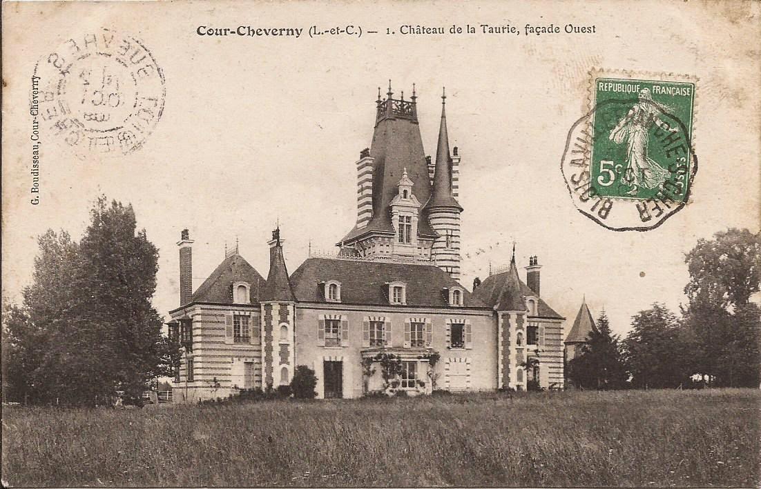 Château de La Taurie - Cour-Cheverny