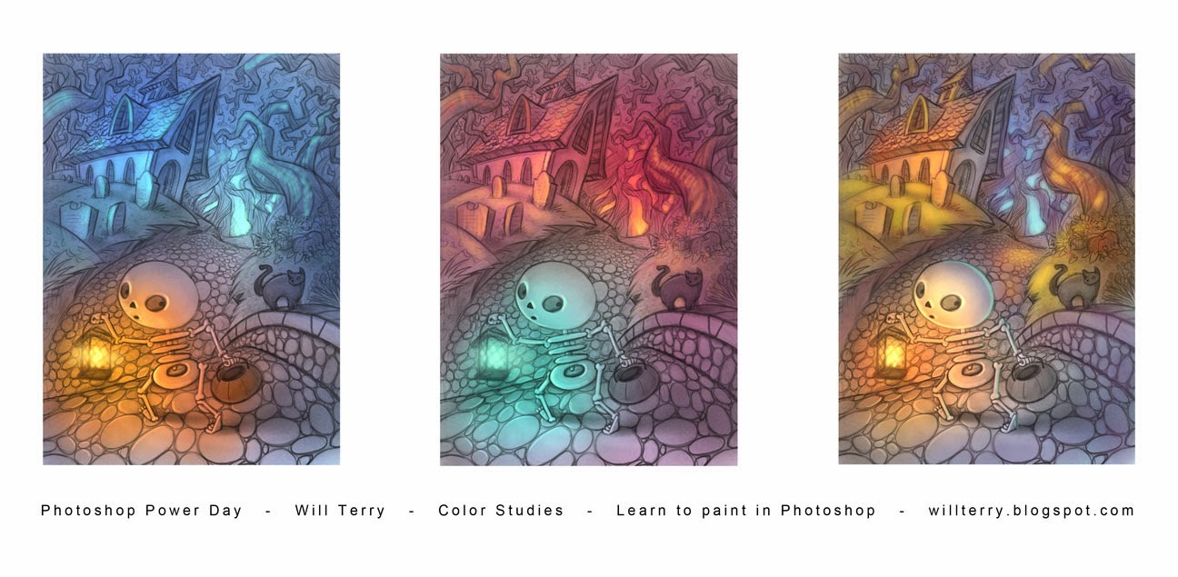 Book color illustrator - Color Studies For Photoshop Power Day