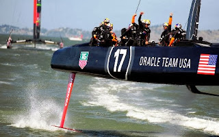 Oracle, Larry Ellison, sailing, America's Cup