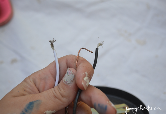 Wiring Hardwire Outdoor Lights into Plug Ins
