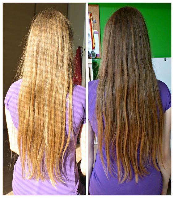 Włosy mojej córki - przygotowanie