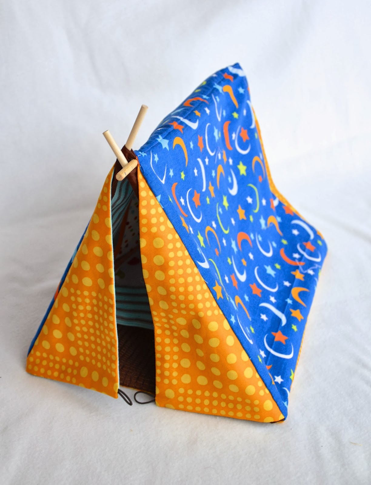 How To Make A Tent Ikat Bag Tent