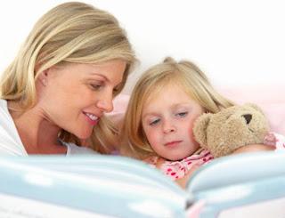 Recomendamos contar cuentos a los niños